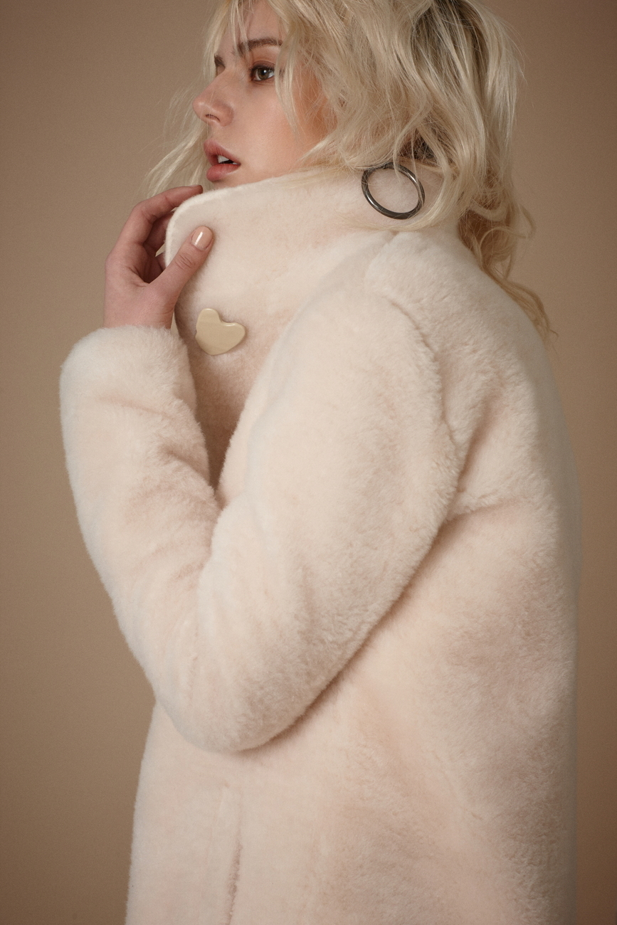 Daria Faux Shearling Coat