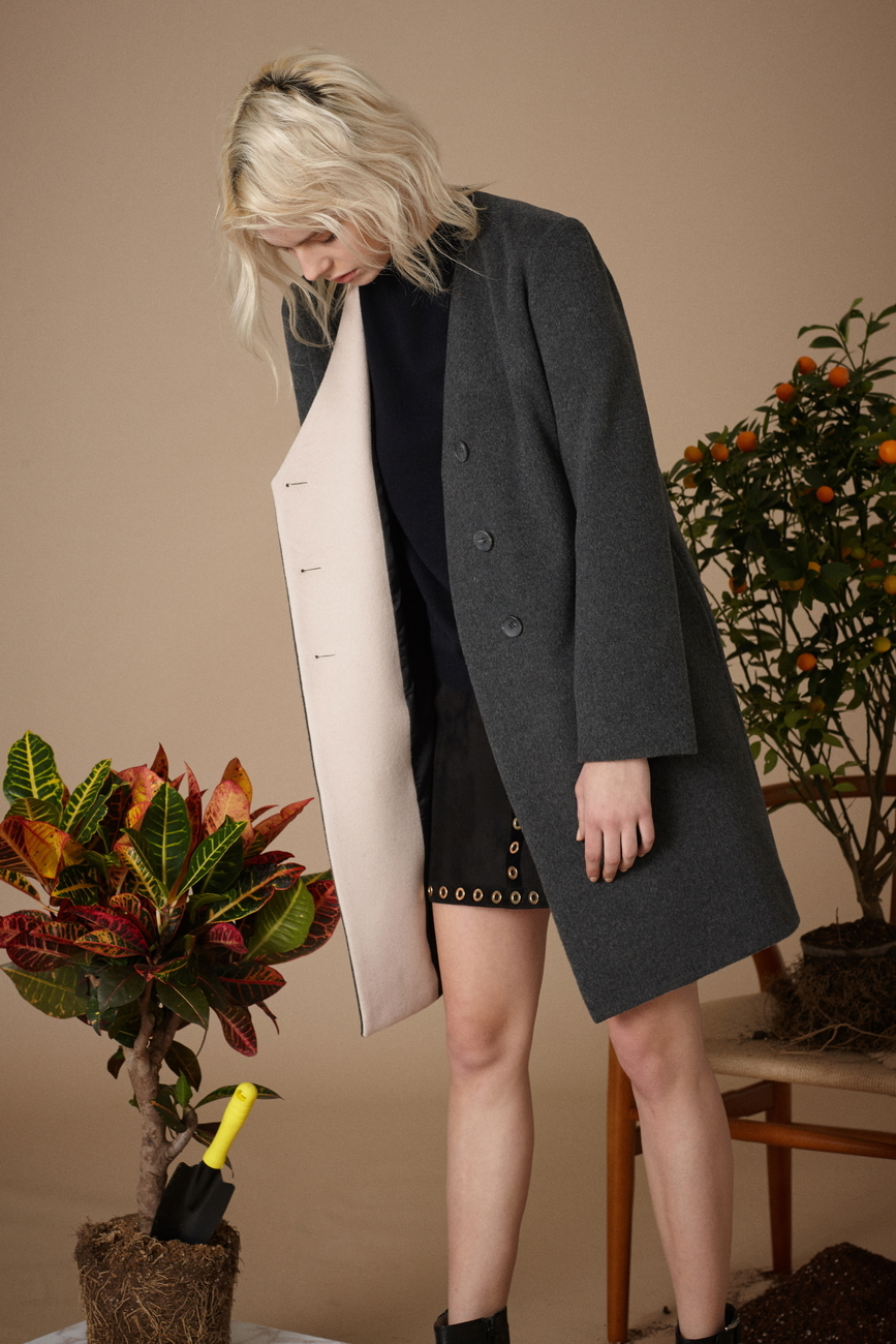 Karin Wool Cashmere Coat