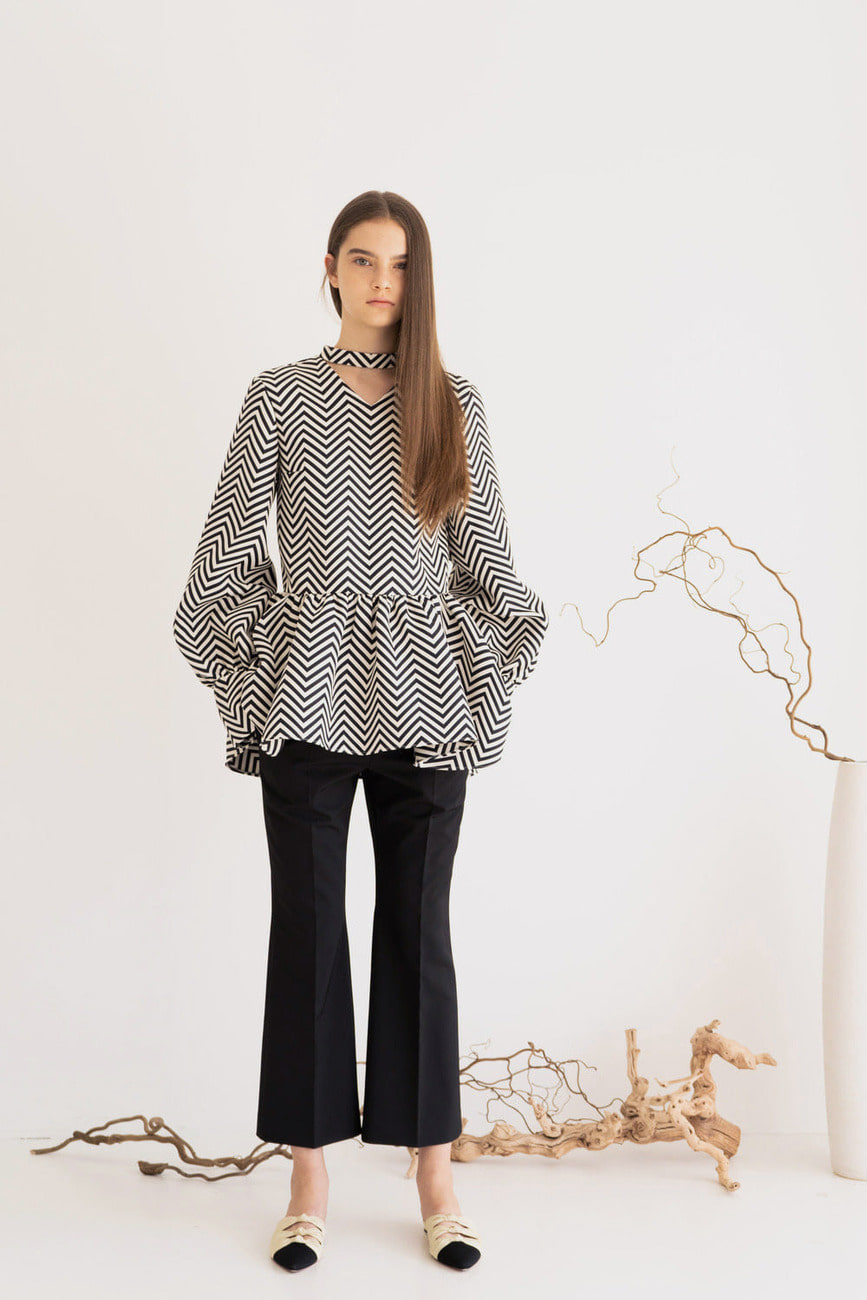 Chloe Balloon Sleeve Blouse