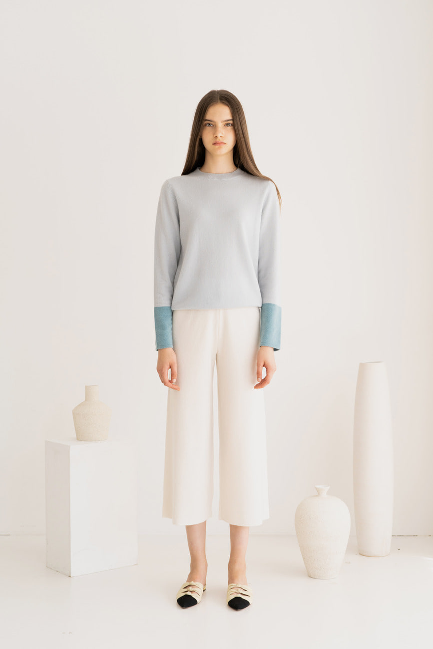 Melissa Color Dipped Cashmere Sweater